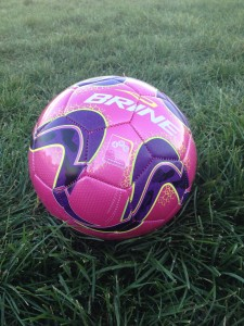 This is a picture of my kid's soccer ball...yeah, I forgot to take pictures until everything was over.